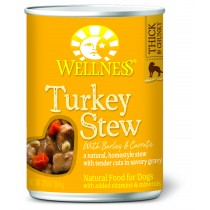 Wellness Homestyle Stew - Turkey Stew with Barley & Carrots Canned Dog Food
