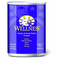 Wellness Complete Health Adult - Chicken & Sweet Potato Canned Dog Food