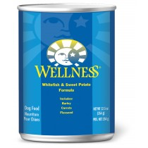 Wellness Complete Health Adult Canine - Whitefish & Sweet Potato Canned Food