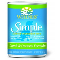 Wellness Simple Limited Ingredient - Lamb & Oatmeal Canned Dog Food