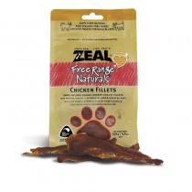 Zeal Free Range Chicken Fillets Pet Treats