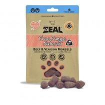 Zeal Freeze Dried Free Range Beef & Venison Morsels Pet Treats