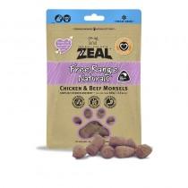 Zeal Freeze Dried Free Range Chicken & Beef Morsels Pet Treats