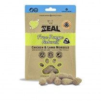 Zeal Freeze Dried Free Range Chicken & Lamb Morsels Pet Treats