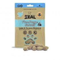 Zeal Freeze Dried Free Range Lamb & Salmon Morsels Pet Treats