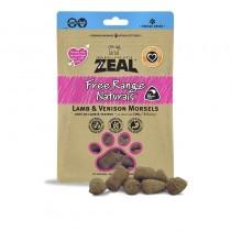 Zeal Freeze Dried Free Range Lamb & Venison Morsels Pet Treats