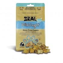 Zeal Wild Caught Hoki Fish Cubes Pet Treats