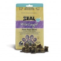 Zeal Wild Caught Hoki Fish Skins Pet Treats