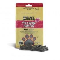 Zeal Free Range Veal Liver Dog Treats
