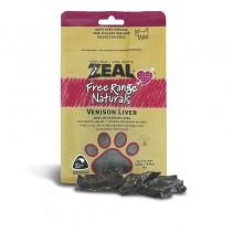 Zeal Free Range Venison Liver Dog Treats