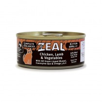 Zeal Chicken, Lamb & Vegetables Canned Food for Kittens