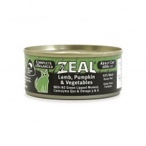 Zeal Lamb, Pumpkin & Vegetables Canned Cat Food