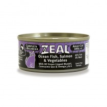 Zeal Ocean Fish, Salmon & Vegetables Canned Cat Food