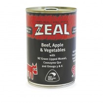 Zeal Beef, Apple & Vegetables Canned Food for Dogs