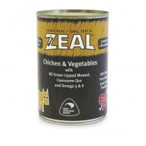 Zeal Chicken & Vegetables Canned Food for Dogs