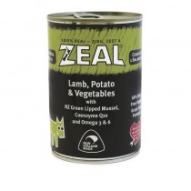 Zeal Lamb, Potatoes & Vegetables Canned Food for Dogs