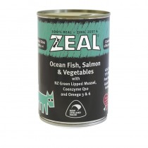 Zeal Ocean Fish, Salmon & Vegetables Canned Food for Dogs