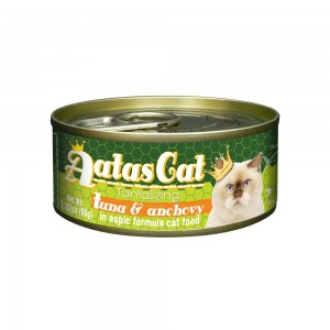 Aatas Cat Tantalizing Tuna & Anchovy in Aspic Canned Cat Food