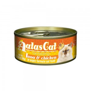 Aatas Cat Tantalizing Tuna & Chicken in Aspic Canned Cat Food