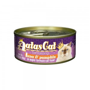 Aatas Cat Tantalizing Tuna & Pumpkin in Aspic Canned Cat Food