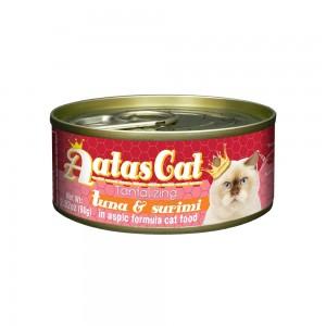 Aatas Cat Tantalizing Tuna & Surimi in Aspic Canned Cat Food