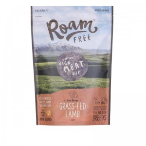 Roam Air Dried Food for Canine - Lamb 1kg