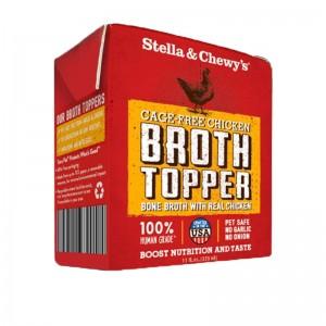 Stella & Chew's Broth Topper for Dogs - Cage Free Chicken Recipe