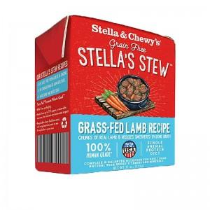 Stella & Chew's Single Source Stew for Dogs - Grass Fed Lamb Recipe