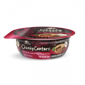 Wellness CORE Chunky Centers - Beef, Lamb and White Sweet Potato for Dogs